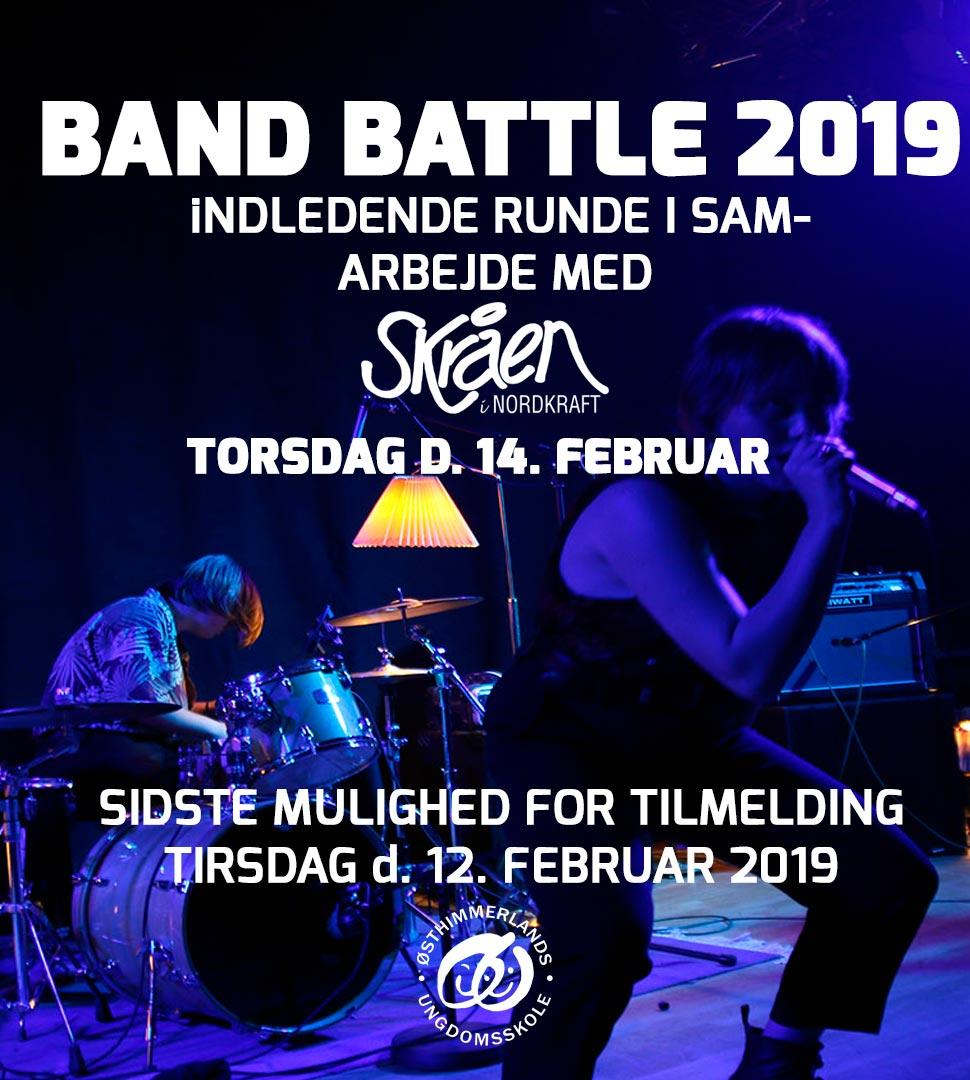 Band Battle tilmelding ØU