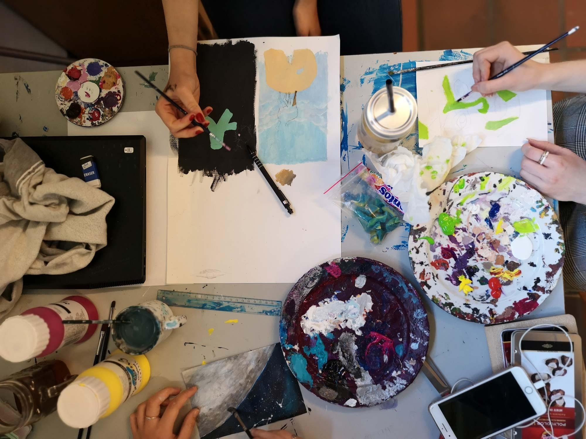 Artmoney efterskole med kunst