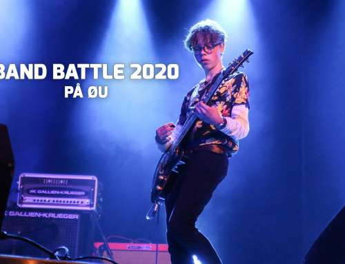 Tilmelding til Band Battle 2020 indledende runde.