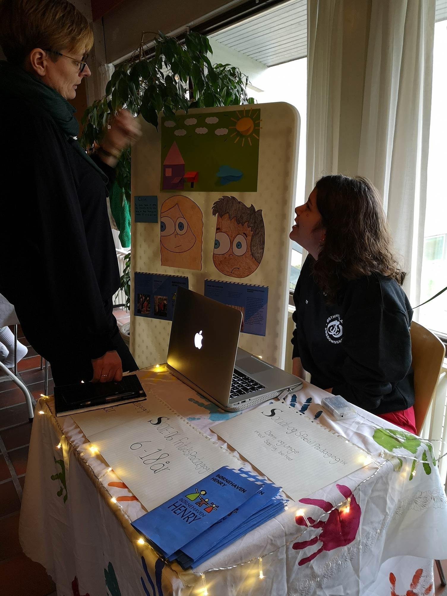 OSO på en kreativ efterskole